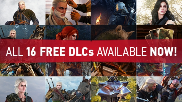 All The Witcher 3 Wild Hunt Free Dlcs Available Now Cd Projekt Red