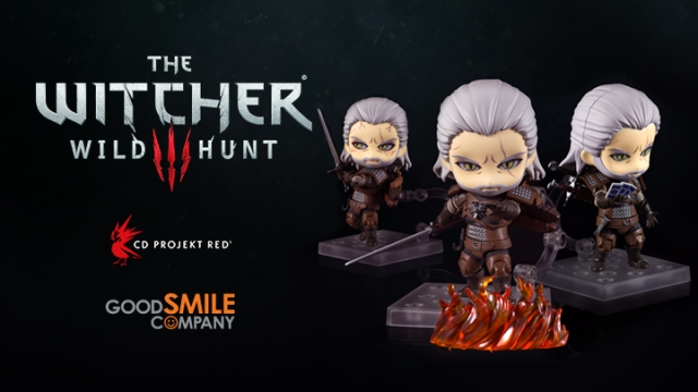 Geralt Good Smile Company Nendoroid The Witcher 3 Wild Hunt
