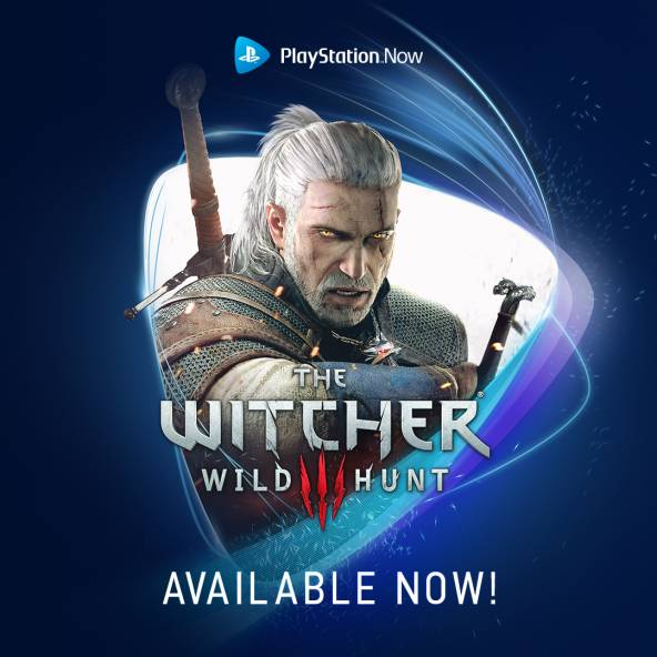 The Witcher 3: Wild Hunt comes to PlayStation Now!