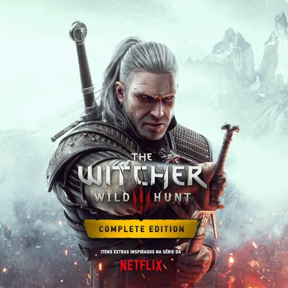 Capa de The Witcher 3: Wild Hunt para a nova geração