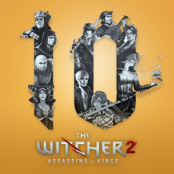 10. Jahrestag von The Witcher 2: Assassins of Kings!