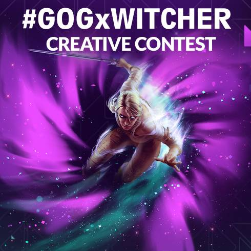 Take part in #GOGxWitcher Creative Contest!