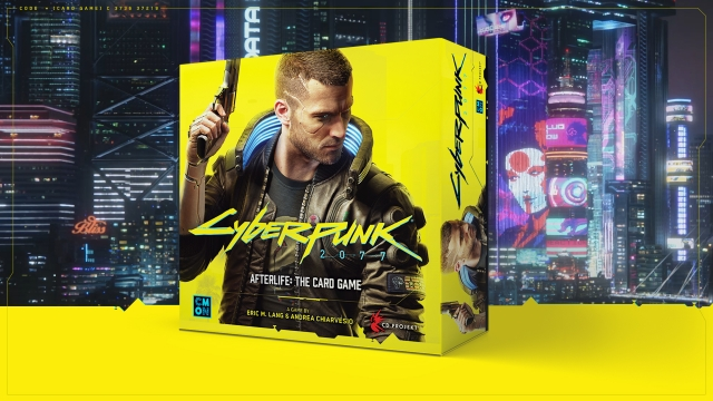 Announcing Cyberpunk 2077 – Afterlife: The Card Game!