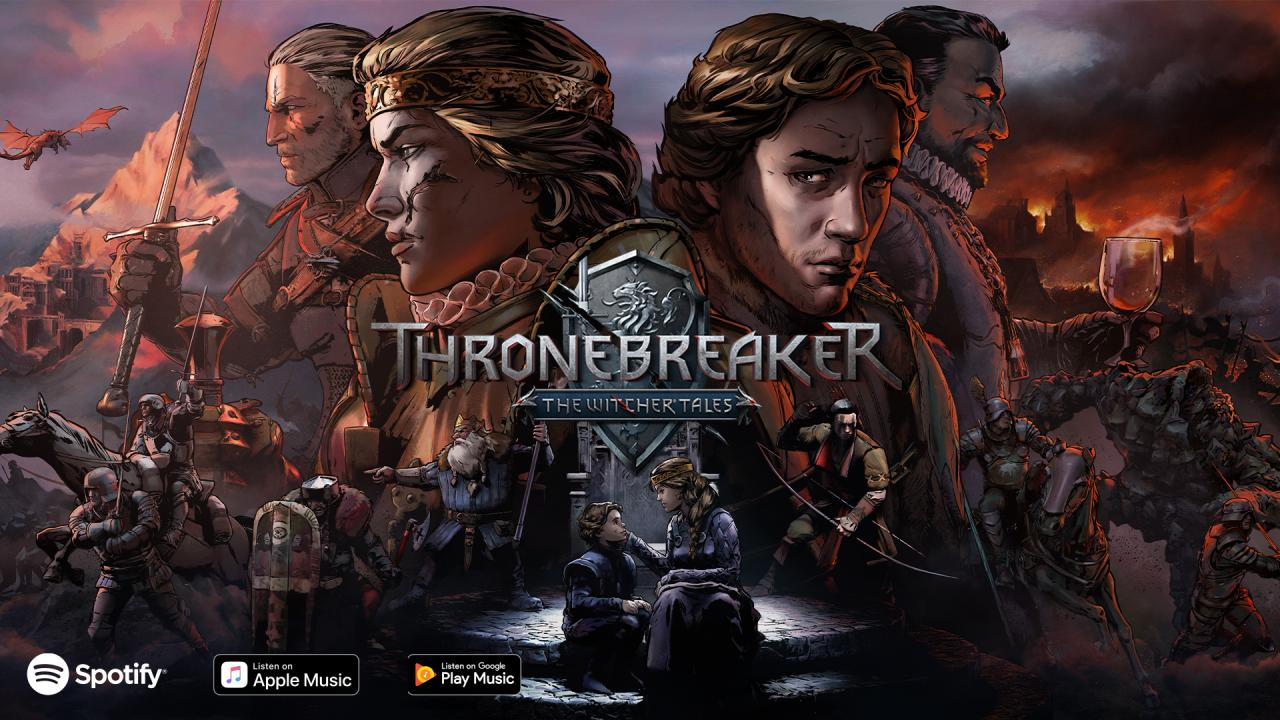 Thronebreaker and GWENT soundtracks are out! - GWENT: The
