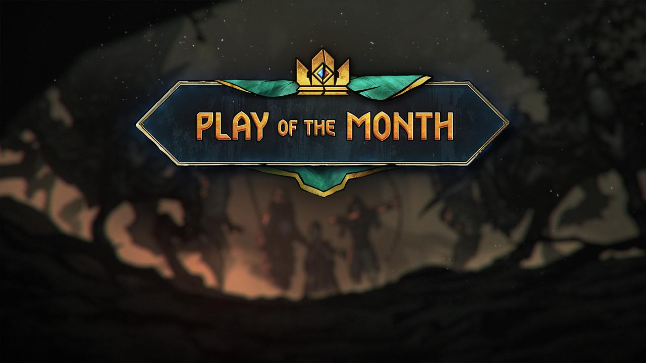 play of the month 第一回の結果発表 グウェント ウィッチャー
