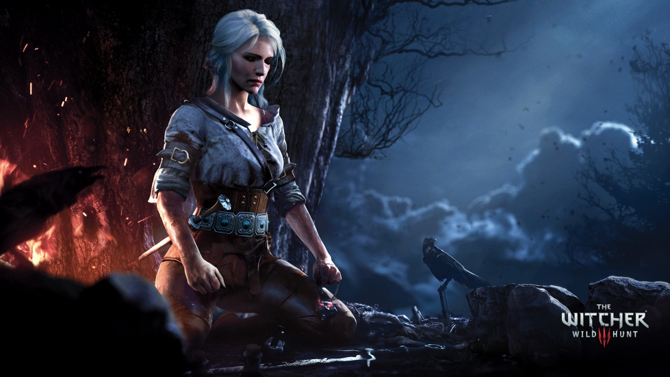 Witcher 3 wallpaper with Ciri