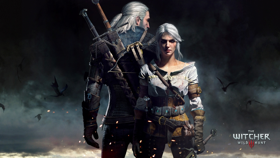 Witcher 3 wallpaper - Geralt and Ciri