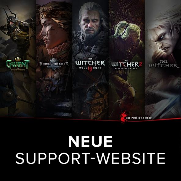 Neue Support-Website verfügbar!