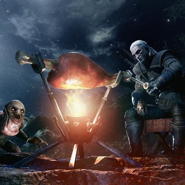 Geralt von Riva betritt die Welt von Monster Hunter: World!
