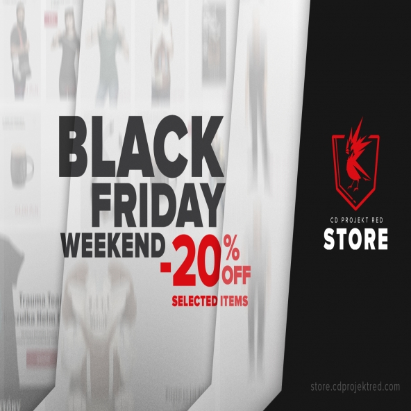 #BlackFriday im CD PROJEKT RED Store