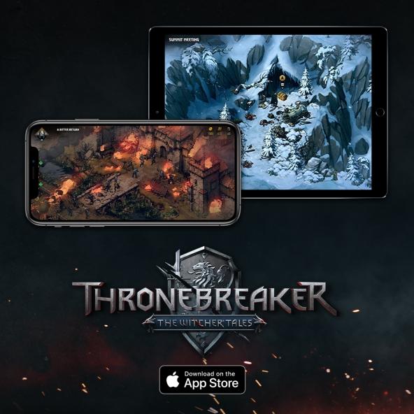 Thronebreaker: The Witcher Tales ist ab sofort auf iOS verfügbar!