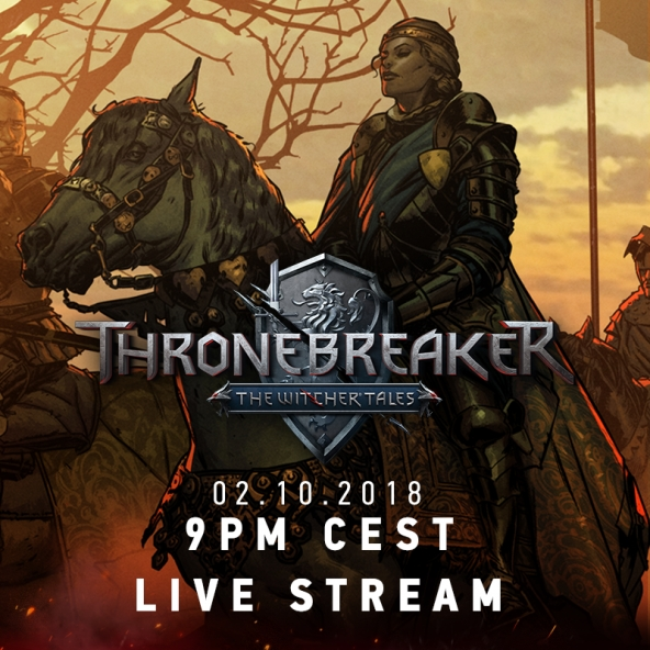 Thronebreaker: The Witcher Tales live stream!