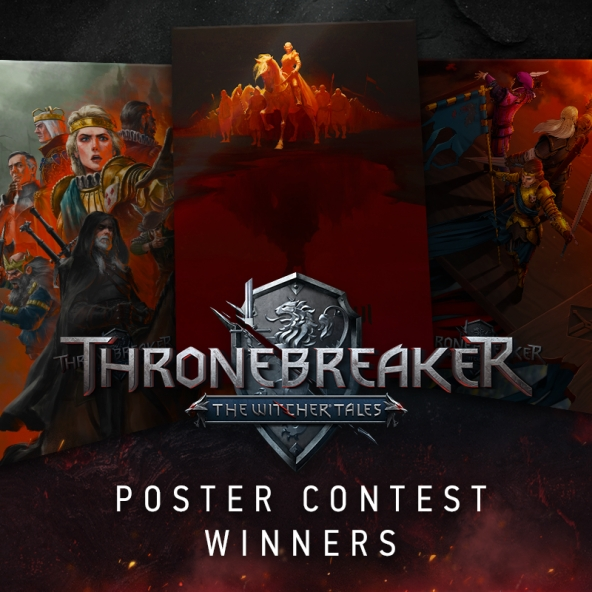 Thronebreaker Poster Contest results are in!