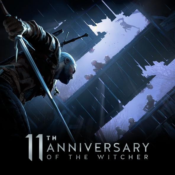 Witcher 11th anniversary wallpapers