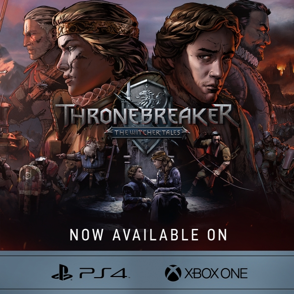 Thronebreaker: The Witcher Tales launch on consoles!