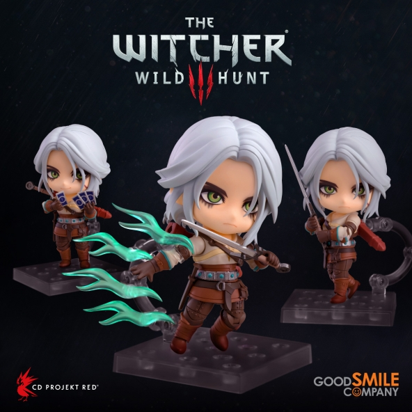 Ciri Nendoroid available for pre-order!