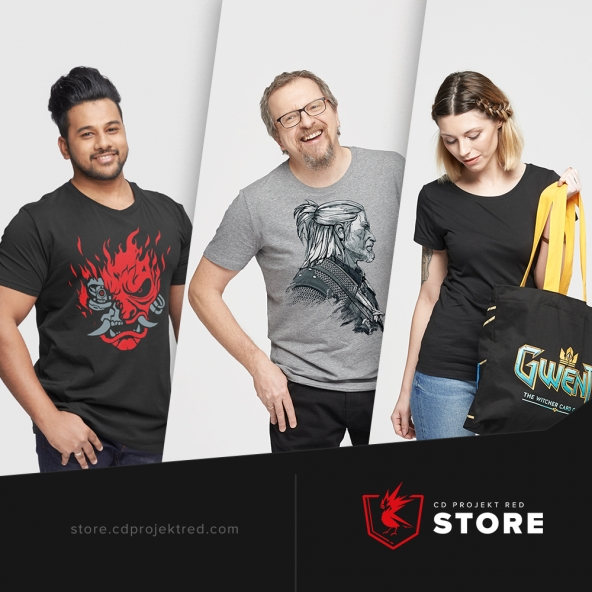 CDPR Store shipping to Canada and US!