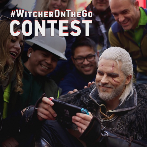 Win a Switch — #WitcherOnTheGo contest!