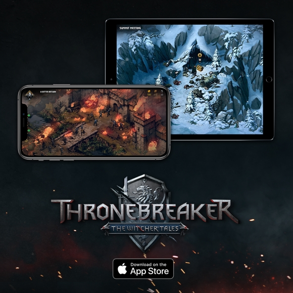 Thronebreaker has arrived on iOS!