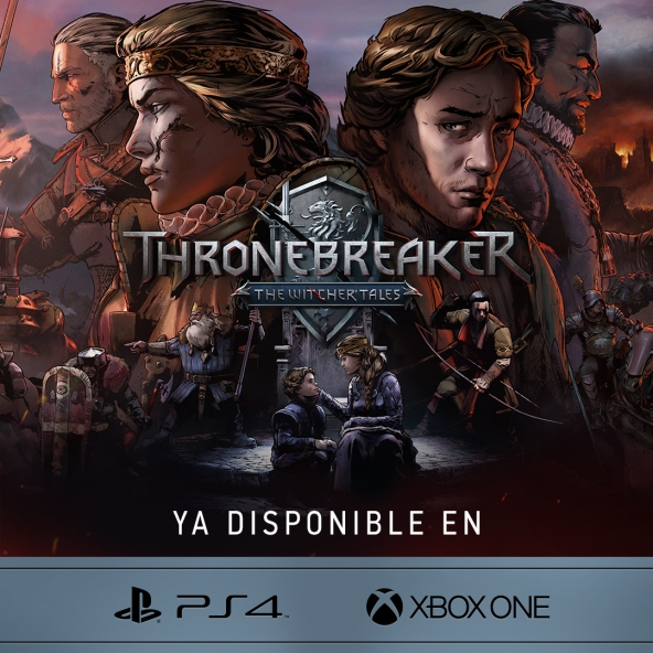 ¡Thronebreaker ya disponible en consolas!