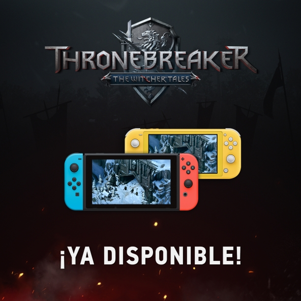 ¡Thronebreaker: The Witcher Tales ya disponible para Nintendo Switch!