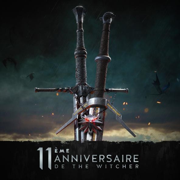 Célébrez avec nous le 11ème anniversaire de The Witcher !