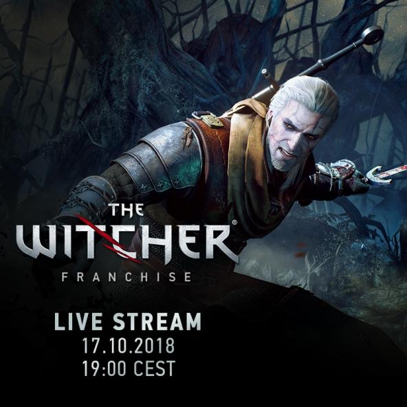 Stream avec les développeurs sur The Witcher 1 et 2 (17.10.2018)