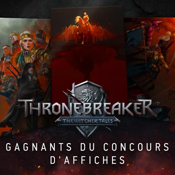 Gagnants du Concours d'Affiches de Thronebreaker !