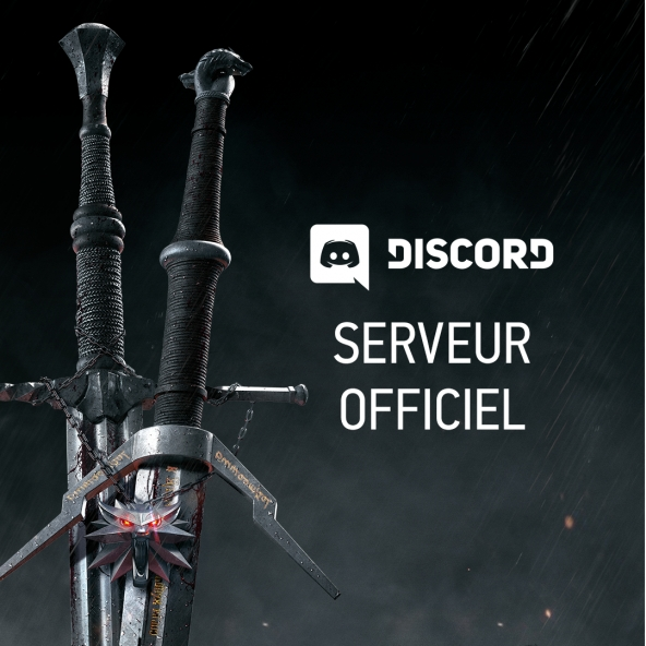 Serveur Discord officiel pour les jeux The Witcher !