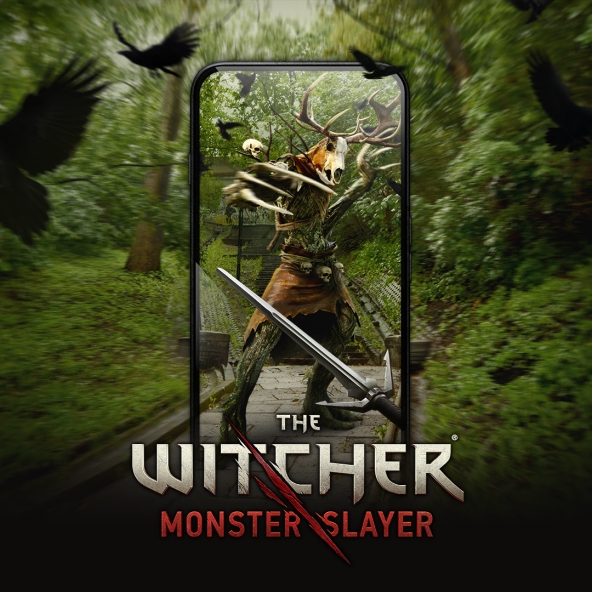Annonce du jeu mobile - The Witcher: Monster Slayer !