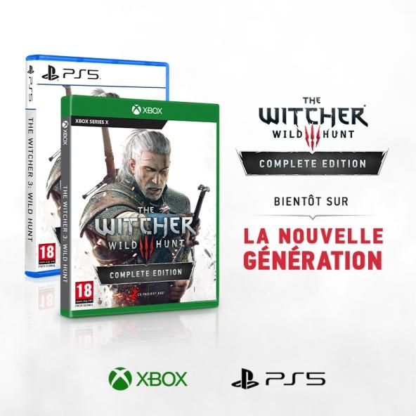The Witcher 3: Wild Hunt arrive bientôt sur la nouvelle génération !