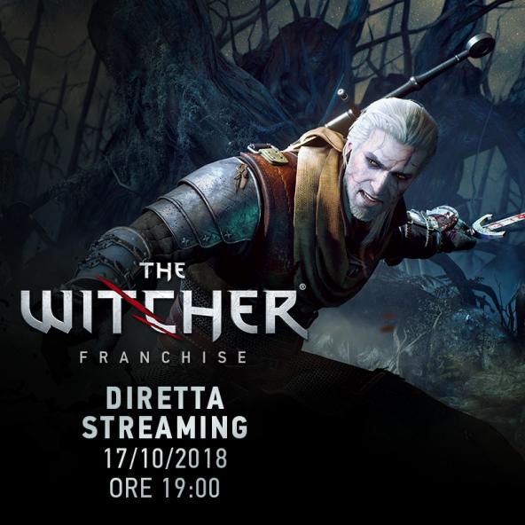 Ricordando The Witcher 1 e 2 - streaming con gli sviluppatori (17.10.2018).