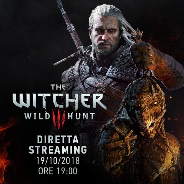 Ricordando The Witcher 3 — diretta streaming con gli sviluppatori (19.10.2018)