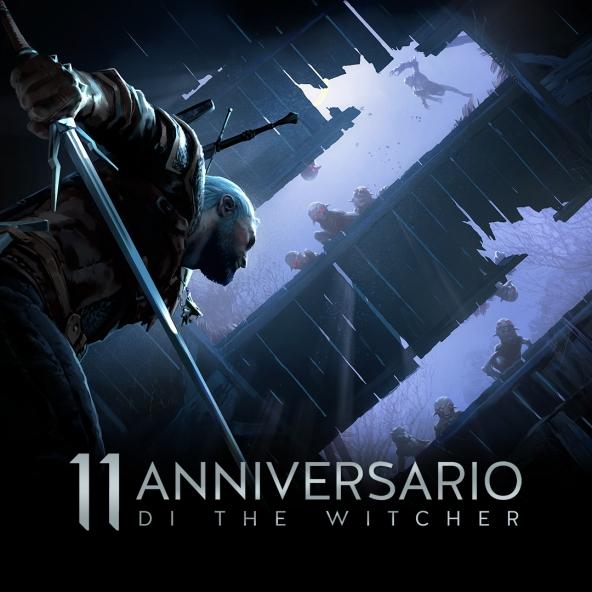Sfondi per l'undicesimo anniversario di The Witcher