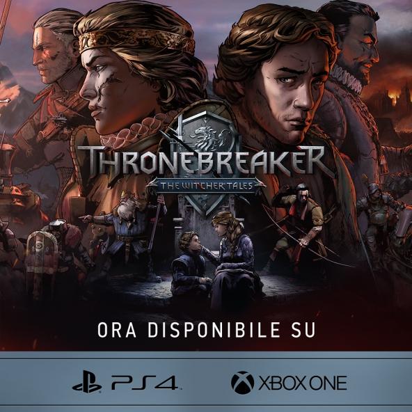 Thronebreaker: The Witcher Tales arriva su console!