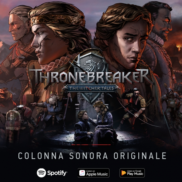 La colonna sonora di Thronebreaker è ora disponibile!