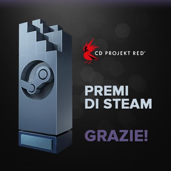 Premi di Steam - Grazie!
