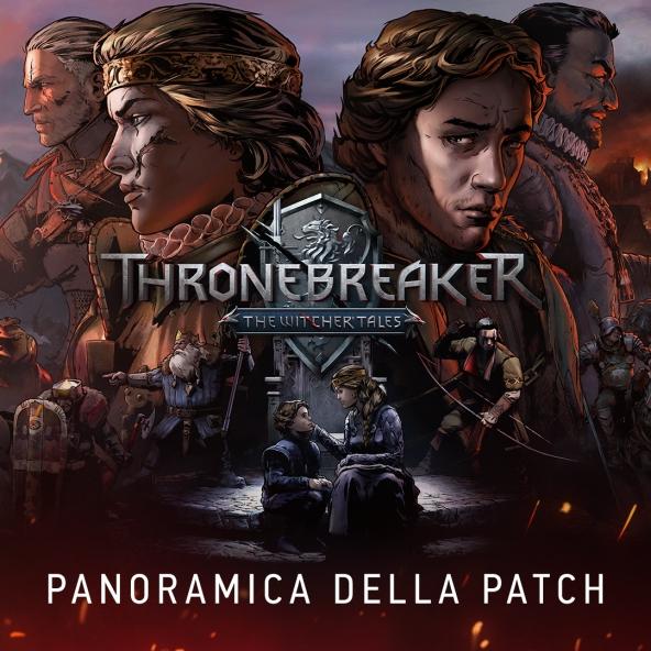 Aggiornamento Thronebreaker 1.1: Note della patch