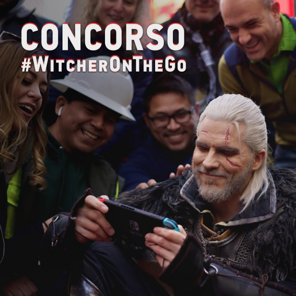Vinci una Switch — Concorso #WitcherOnTheGo!