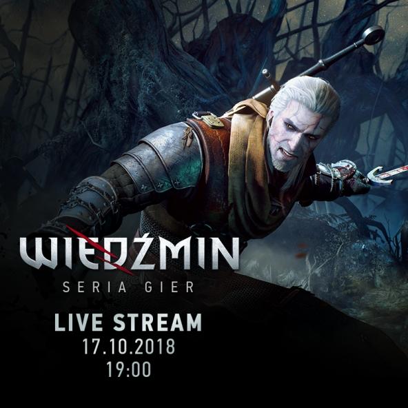 Powspominajmy Wiedźmina 1 i 2 — stream z twórcami (17.10.2018)