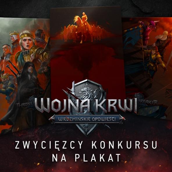 Poznajcie zwycięzców konkursu na plakat z Wojny Krwi!