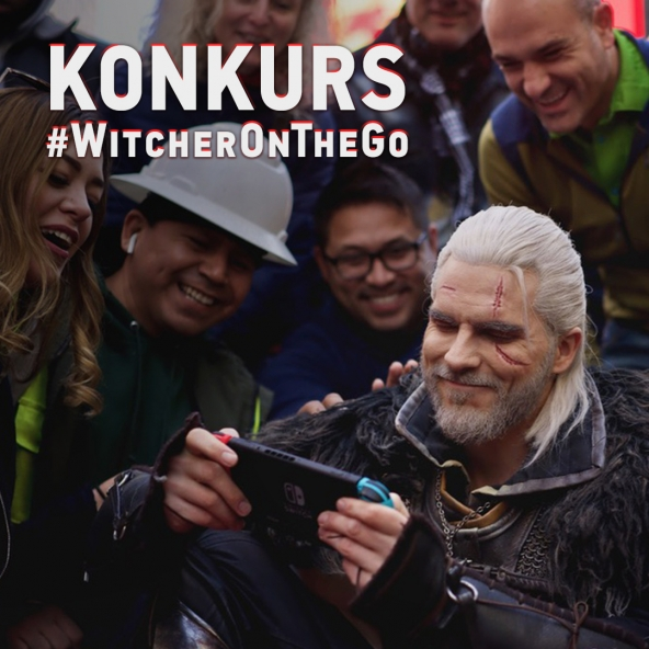 Wygraj Switcha — konkurs #WitcherOnTheGo!
