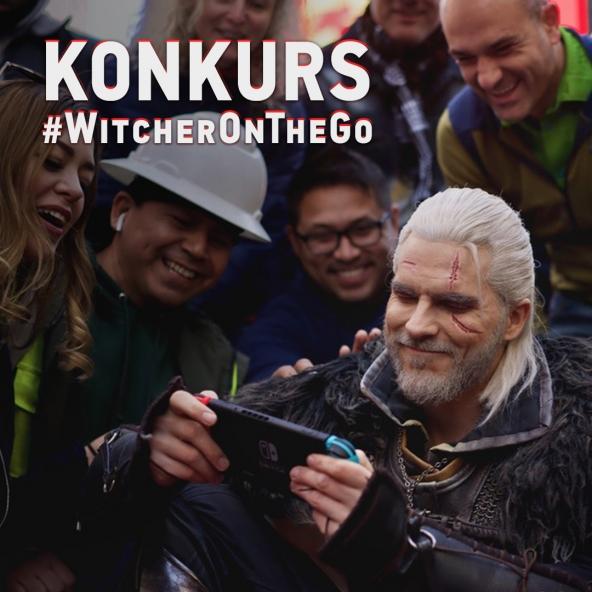 Wygraj Switcha — konkurs #WitcherOnTheGo!