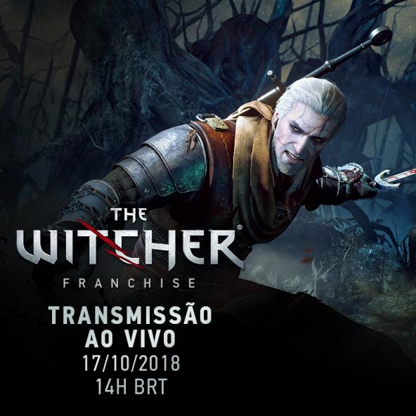 Relembrando The Witcher 1 e 2 - stream com os desenvolvedores (17/10/2018)