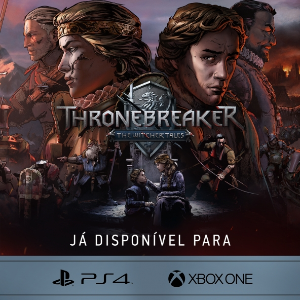 Thronebreaker: The Witcher Tales lançado para consoles!
