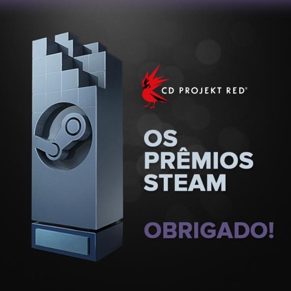 Prêmios Steam - Obrigado!