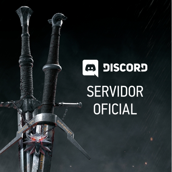 Servidor oficial no Discord para os jogos do The Witcher!