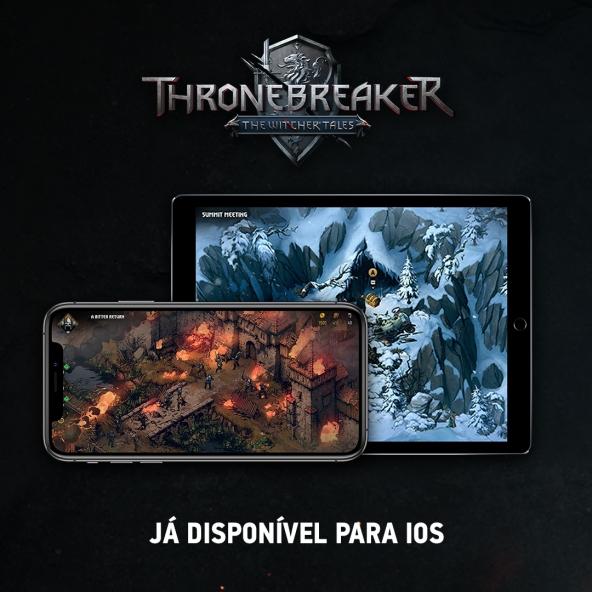 Thronebreaker chegou ao iOS!